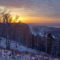 Закат средины декабря :: Анатолий Иргл