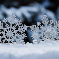 Танец снежинок :: Вера Бережная