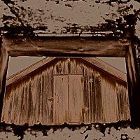 окно в окне :: Роза Бара