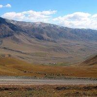 Дорога на  высокогорное озеро Сон-Куль :: GalLinna Ерошенко