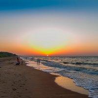 Морской закат :: Алексей Лейба