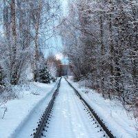 Зимний путь :: Катя Бокова
