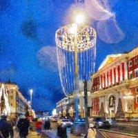 Город, всех поздравь! :: Ирина Данилова