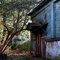 Старый дом с поникшей крышей :: АЛЕКСАНДР СУВОРОВ