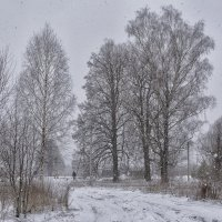 а у нас снег... :: Moscow.Salnikov Сальников Сергей Георгиевич