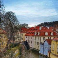 Прага, мельница на Чертовке :: Priv Arter
