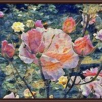 """Картина """"Французские розы"""" :: Владимир Бровко"""