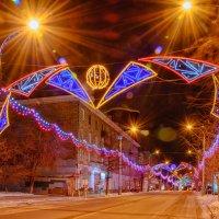 Про праздничную иллюминацию :: Дмитрий Брошко