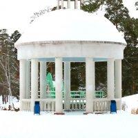 Тот же парк зимой :: Сергей Кухаренко