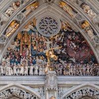 Фрагменты главного входа в кафедральный собор Берна :: Witalij Loewin