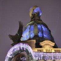 Новогодний дом Зингерв :: Вера Моисеева