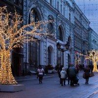Улицы праздничного города :: lady-viola2014 -