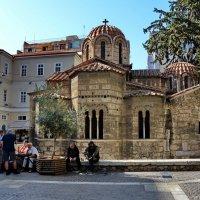 Церковь Панагия Капникарея в Афинах :: Владимир Брагилевский