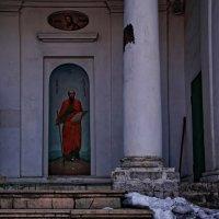 Село Молоди Усадьба и ц.Воскресения Христова :: Евгений Жиляев