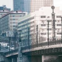 Мост в Донецке на речке Кальмиус :: Игорь Касьяненко