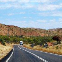 Дорога к центру Австралии, на красную землю. :: Лара Гамильтон