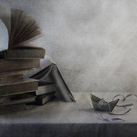 Бумажный кораблик... :: Liliya