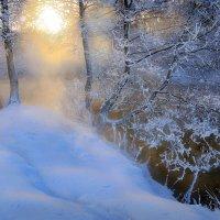 Снежный закат....2 :: Андрей Войцехов