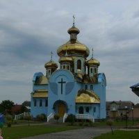 Православный   храм   в   Одаях :: Андрей  Васильевич Коляскин