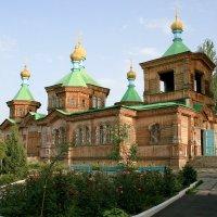 Каракол. Киргизия. Церковь Троицы Живоначальной :: GalLinna Ерошенко