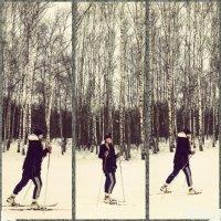 Лыжница :: Виктория Нефедова