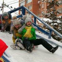 Зимние каникулы - весёлая пора! :: Андрей Заломленков