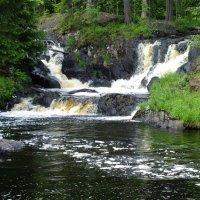 Водопад Рускеала в Карелии :: Андрей Кротов