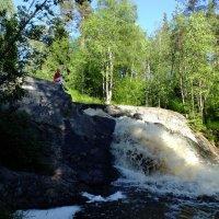 Карелия. Водопад Койриноя ( нижний ) :: Андрей Кротов