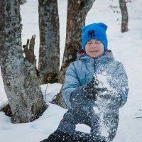 Ура! Мы нашли снег! :: Nyusha