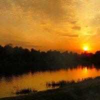 закат над Сожем :: Александр Прокудин