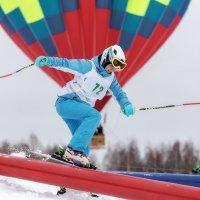 Джиббинг на горных лыжах :: Леонид Никитин