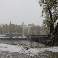 Снег в осеннем городе :: Ольга
