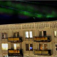 Полярное сияние по проводам... :: Кай-8 (Ярослав) Забелин