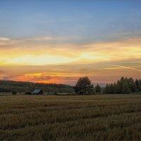 Картинка про вечернюю деревенскую тишину... :: Александр Никитинский