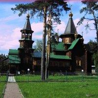 Церковь Серафима Саровского :: Maikl Smit