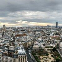 Панорама,Париж с собора Нотр-дам :: Наталия