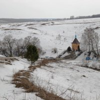 Святой источник Казанской Божией Матери в с.Осаново Тульской области :: Инна Щелокова