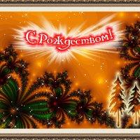 рождественская открытка :: linnud