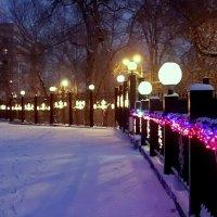 Морозный вечер Сочельника. :: Елена