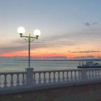 Набережная Геленджика 7 янв 2015г :: Alexey YakovLev