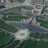 Вид сверху Абу Даби... :: Валентина Потулова
