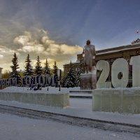 новогодняя площадь :: gribushko грибушко Николай