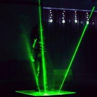 Laser show :: Кристина Кеннетт