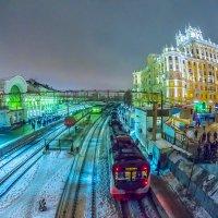Москва, Белорусский вокзал :: Игорь Герман