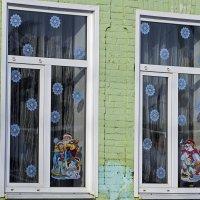 Окна детского сада :: Игорь Сикорский