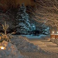 Ночь на Рождество. :: Сергей Щербатюк