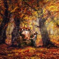 В осеннем лесу :: Нина