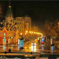 Огни небольшого города :: Андрей Козлов
