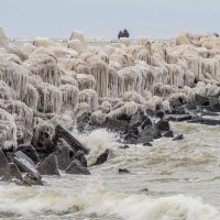 Замёрзший  шторм. :: Igor Shoshin