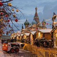 Рождество на Красной площади :: Татьяна Василюк
